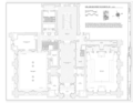 Enlarged First-Floor Plan (east) - Masonic Temple, 1 North Broad Street, Philadelphia, Philadelphia County, PA HABS PA,51-PHILA,742- (sheet 8 of 12).png