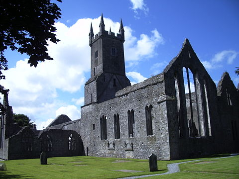 Ennis Friary, under the Franciscans, was founded in 1242 and was greatly favoured by the kings of Thomond. Ennis Abbey3.JPG