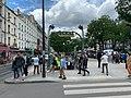 Entrée Station Métro Couronnes Paris 1.jpg