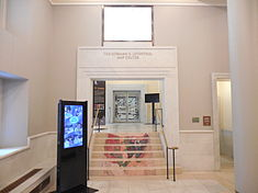 Entrance, Norman B Leventhal Map Center, Boston MA.jpg