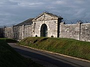 Entrance to Bull Point Barracks - geograph.org.uk - 1709153