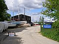 Entrance to the Buckler's Hard Yacht Harbour and Agamemnon Boatyard - geograph.org.uk - 176992.jpg