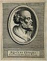 Epicurus. Line engraving. Wellcome V0001780.jpg