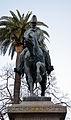 Equestrian statue of Carlo Alberto (Rome) - Front view.jpg