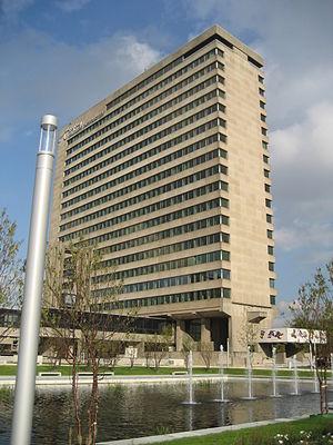 Erasmus University Rotterdam - Erasmus University main faculty building containing Erasmus School of Economics.
