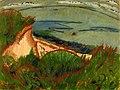 Ernst Ludwig Kirchner - Küstenlandschaft auf Fehmarn, 1913. Detroit Institute of Arts.jpg