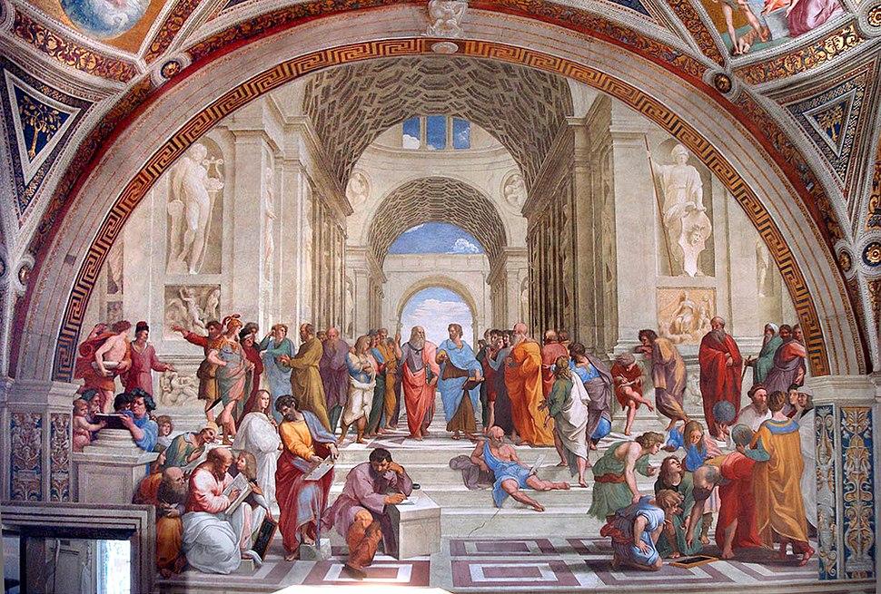 Escola de Atenas - Vaticano 2