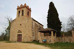 Església de Sant Cebrià de Fogars de la Selva 2.JPG