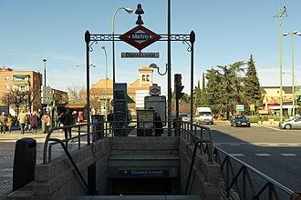 """Ciudad Lineal - """"Ciudad Lineal"""" metro station"""