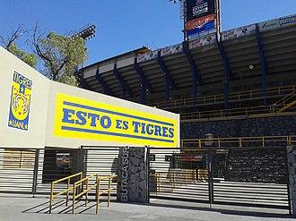 Estadio Universitario (UANL) - South entrance to the Estadio Universitario