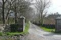 Estate entrance at Hillpark - geograph.org.uk - 1252222.jpg