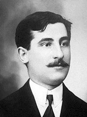 History of Boca Juniors - Esteban Baglietto, one of Boca Juniors founders, also its first president and goalkeeper.