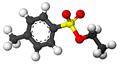 Ethyl p-toluenesulfonate3D.png
