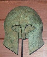 Etruscan helmet british museum