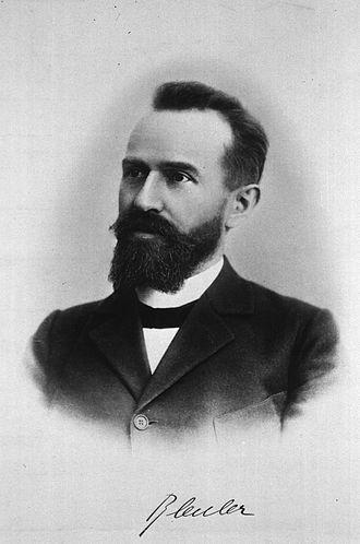 Eugen Bleuler - Image: Eugen bleuler