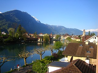 Interlaken Place in Bern, Switzerland