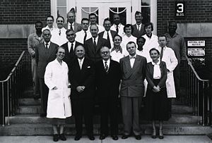 Evelyn M. Anderson - Evelyn Anderson and the Endocrinology section at the NIH