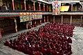 Examination of monks, Tashilhunpo Monastery, Shigatse, Tibet (2).jpg