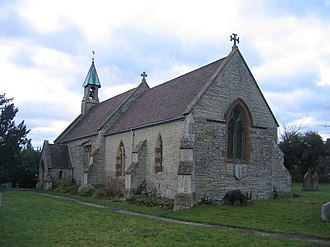Exhall, Stratford-on-Avon - Image: Exhall Church geograph.org.uk 128126