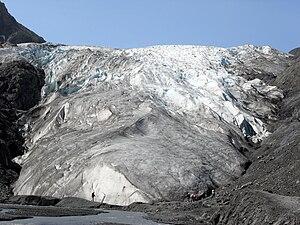 Exit Glacier - Exit Glacier in July 2009