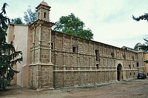 Monasterio de Piedra - Image: Exterior del monasterio monasterio de piedra nuevalos 2010 (3)