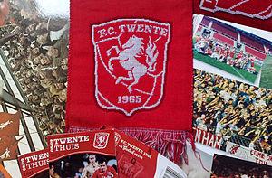 Saxon Steed - Football club FC Twente's banner and logo