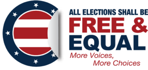Free & Equal Elections Foundation - Free and Equal Elections Foundation Logo and Tagline