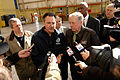 FEMA - 34085 - FEMA Adminstrator Paulison with Tennessee Governor speaking with reporters.jpg