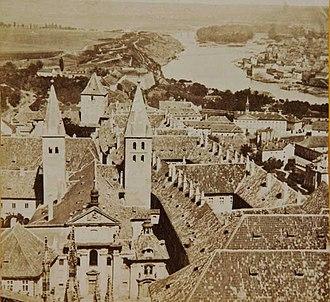 St. George's Basilica, Prague - Image: F Fridrich, Prazsky hrad, bazilika sv. Jiří