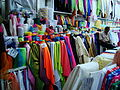 Fabric store in Sampeng Lane, Samphanthawong District, Bangkok, Thailand.jpg