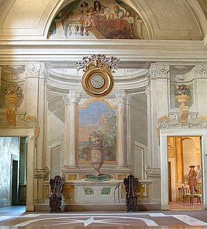 Villa Falconieri - Entrance Hall.