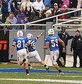 Falcons score TD at 2009 Armed Forces Bowl.jpg