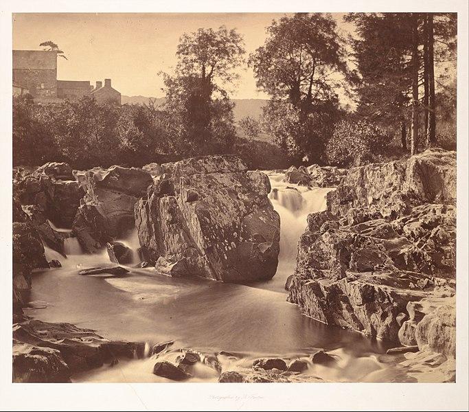 File:Falls of the Llugwy, at Pont-y-Pair MET DP107958.jpg