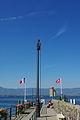 Fanal sur l'embarcadère - Yvoire.JPG