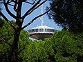 Faro de Moncloa entre pinos.jpg