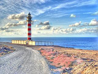 Punta Sardina Lighthouse Lighthouse on Gran Canaria, Spain