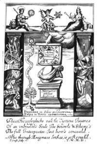 Frontispiece of Fasciculus Chemicus