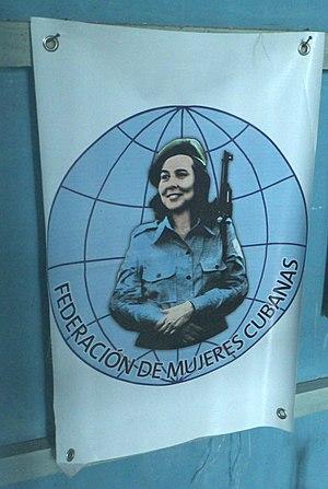 Federation of Cuban Women - Image: Federacion de Mujeres Cubanas