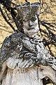 Fehérgyarmat, templomkerti Nepomuki Szent János-szobor 2021 12.jpg