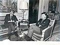 Felipe González, recibe al ministro de Asuntos Exteriores de Argentina. Pool Moncloa. 4 de mayo de 1984.jpeg