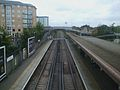 Feltham station high westbound.JPG