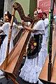 Female jarocho harpist.jpg