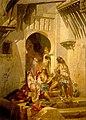 Femmes d'Alger, intérieur de cour, 1859, par Eugène Giraud.jpg