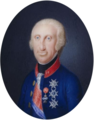 Ferdinand I of the Two Sicilies, miniature - Hofburg.png