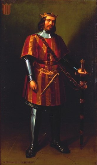 Compromise of Caspe - Portrait of Ferdinand of Castile, proclaimed king after the Compromise.