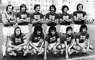 Ferro Carril Oeste - The Ferro C. Oeste squad in 1978 that won the Primera B title