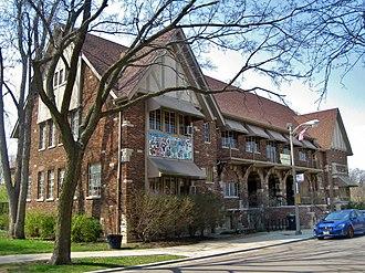 Albany Park, Chicago - Eugene Field Park house