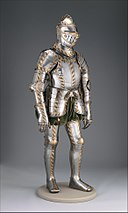 Field and Tournament Armor of Johann Wilhelm (1530–1573), Duke of Saxe-Weimar MET DP271141.jpg