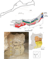 Fig 5 La Fabbrica sections at La Fabbrica cave in central Italy, Villa and al Plos One 2018.png