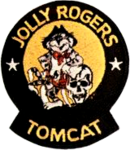 Fighter Squadron 84 (US Navy) Tomcat insignia, 1977.png